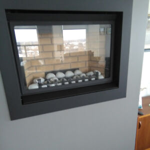 Natural Gas Fireplace Insert - Like New!