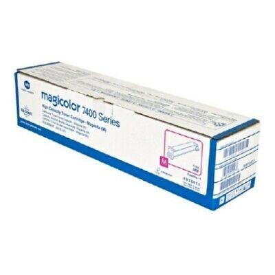 Konica Minolta 8938615 Magenta Toner for MagiColor 7400 7450 NIB OEM - Magicolor 7450 Compatible Toner
