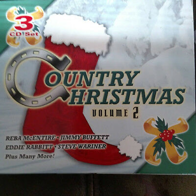 COUNTRY CHRISTMAS VOLUME 2 (3 CD BOX SET) PRE OWNED