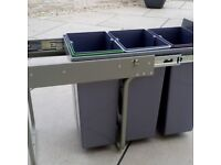 Kitchen recycling storage solution
