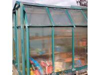 6x8 greenhouse good condition, no broken glass