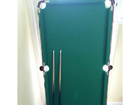 CHILDRENS 2-IN-1 POOL & SNOOKER TABLE - COMPLETE