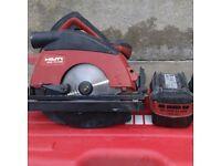 Hilti 36v circular saw