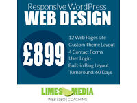 WordPress website from £899. WordPress Development, WooCommerce, SEO, Online Marketing & Training