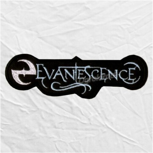 Evanescence Logo Embroidered Patch Rock Metal Band Amy Lee Ben Moody Tim McCord