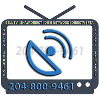 ★ BELL TV | SHAW DIRECT | DISH NETWORK | DIRECTV 204-800-9461 ★