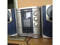 Aiwa Stereo Hifi System with 3CD interchanger