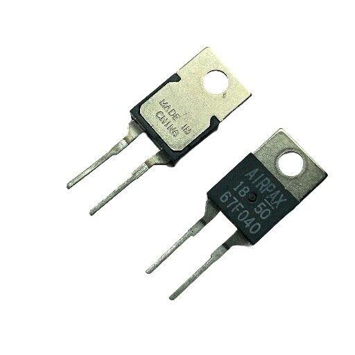[1pcs] 67F040 Bimetal Thermostat40