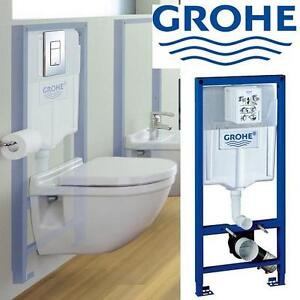 NEW* GROHE IN WALL TOILET TANK GROHE RAPID SL 2'x6' IN WALL TANK CARRIER SYSTEM 101340258