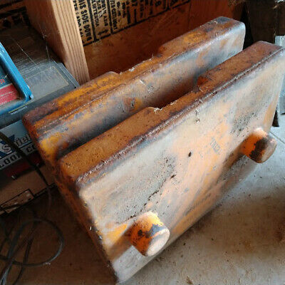 Vintage Minneapolis Moline Tractor Implement Weights