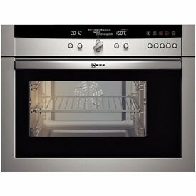Neff CircoSteam Built In Combination Oven C47C62N0GB Stainless Steel **Ex-Display**
