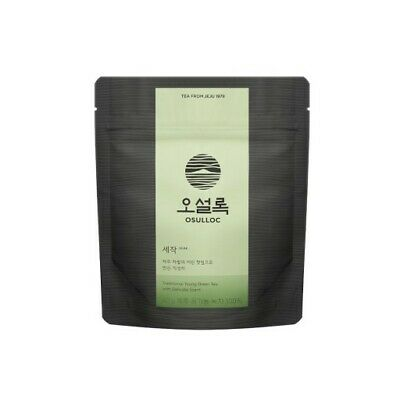 OSULLOC SEJAK GREEN TEA 100% Organic Korean Jeju Green Tea 40g