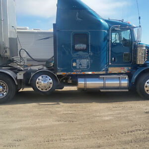 T 800 with lift axle