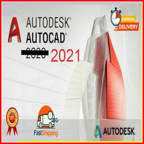 Autodesk AutoCAD 2021☑Full Version ☑Lifetime☑ Windows☑ multilingual☑