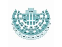Roger Waters 2 Amazing Seated Tickets Glasgow *3 ROWS FROM THE STAGE* Saturday 30 June