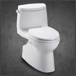 TOTO CARLYLE II -  ONE PIECE TOILET - MODEL# MS614114CEFG#01