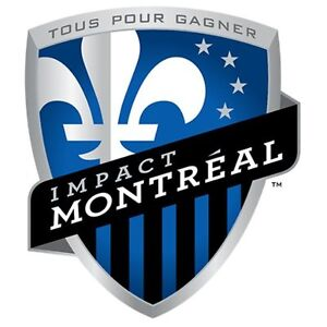 MONTREAL IMPACT vs SEATTLE SOUNDERS MARCH 11TH 100 LEVEL TICKETS