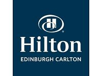Hilton Edinburgh Carlton is currently recruiting for Duty Manager position