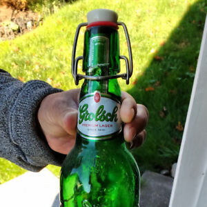 """Grolsch "" beer bottles"