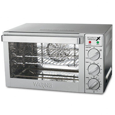 Waring Wco250 X Commercial Quarter Size Convection Oven 120v 1700w Blow Out