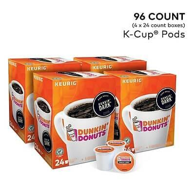 Dunkin' Donuts Dark Roast Coffee Regular K-Cup Pods, 96 ct. Free Shipping! Dunkin Donuts Free Coffee