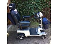QUINGO Vitess Class 3 road and pavement legal 5 wheeled scooter. Excellent condition.
