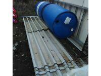 Used metal roof sheeting