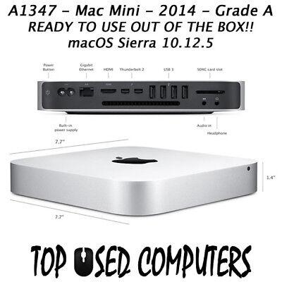 Apple Mac Mini 2.6GHz Core I5 1TB 8GB MGEN2LL/A A1347 2014 - GRADE A
