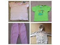 Baby clothes bundle 6-9 months & 9-12 months