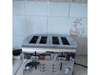 Russell Hobbs large Matalic Toaster