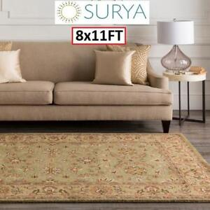 NEW SURYA CROWNE AREA RUG 8x11FT CRN-6001 146889883 RUGS CARPET FLOORING DECOR ACCENTS MATS PADS