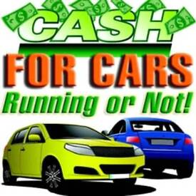 WANTED SCRAP CARS FOR CASH £100-£250 NO ONE PAYS MORE