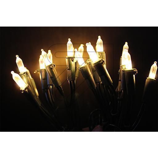 LED Mini Lichterkette 10 20 35 50 100 Lichter klar klassikweiß für innen
