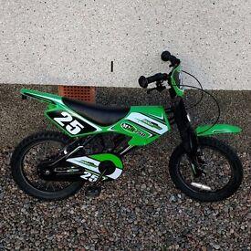 "MOTOBIKE MXR750 16"" KIDS BICYCLE"