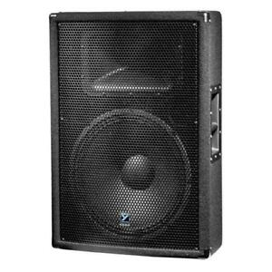 powered 15 inch yorkville speakers  just like new 400 EACH