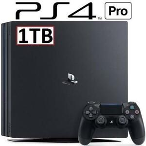 REFURB PS4 PRO 1TB CONSOLE 3001510 180834068 PlayStation 4 SYSTEM VIDEO GAMES REFURBISHED