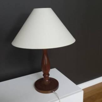 Tasmanian Blackwood Table Lamps