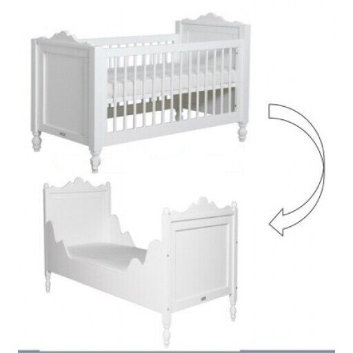 Bopita Belle Tienerbed.Bopita Belle Cot And First Bed Rrp 440 In Pulborough West Sussex