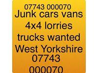 All scrap vehicles bought fir cash