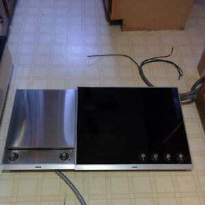 Ceran-St George Cooktop and grill