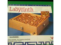 Labyrinth Solid Wood Game by Cardinal - Complete