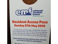 edinburgh marathon access pass