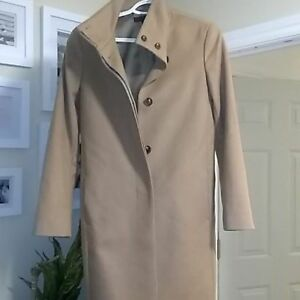 LIKE-NEW CAMEL PEA COAT (WOMENS) SIZE SMALL