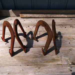 Horse Shoes Official drop forge Set four A  &  B