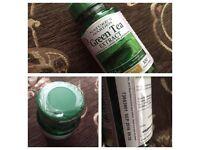 GREEN TEA EXTRA STRENGTH CAPSULES. 100