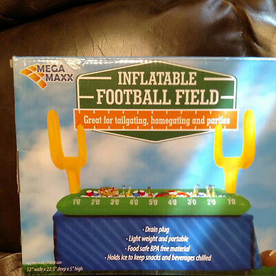 NEW MEGA MAXX Inflatable Football Field for Tailgating & Parties (Inflatable Football Field)