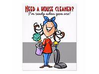 Feltham, Hanworth and Hampton house cleaner