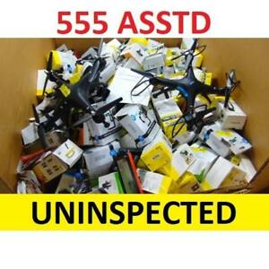 555 ASSTD CONSUMER ELECTRONICS 144708816 LOT W/ MANIFEST UNINSPECTED