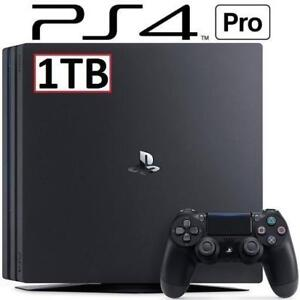 OB PS4 PRO 1TB CONSOLE 3001510 151173843 PlayStation 4 SYSTEM VIDEO GAMES OPEN BOX
