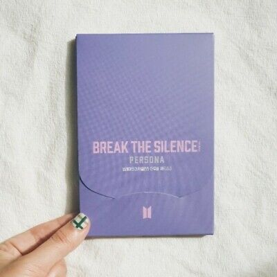 BTS BREAK THE SILENCE : THE MOVIE [ PERSON ] Official MD Post Card Set
